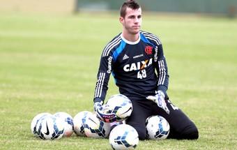 Paulo Victor Treino Flamengo (Foto: Cezar Loureiro / Agência O Globo)