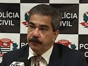 O delegado é suspeito de ter abusado sexualmente da neta de 16 anos (Foto: reprodução/TV Tem)
