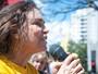 Regina Duarte participa de protestos em apoio a Lava Jato