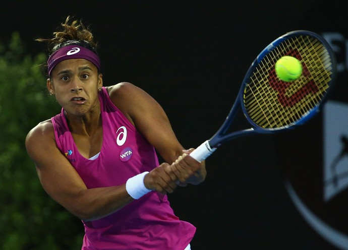 Teliana Pereira é derrotada por Heather Watson no WTA de Hobart (Foto: Getty Images)