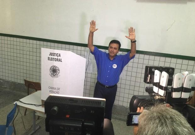 Carlos Eduardo, candidato em Natal (Foto: Reprodução/Twitter/Carlos Eduardo)
