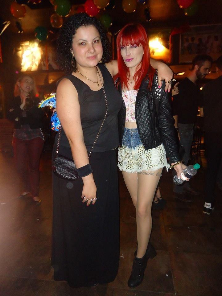 A estudante Tamira Ferreira foi uma das fundadoras do fã-clube oficial da banda (Foto: Arquivo Pessoal)