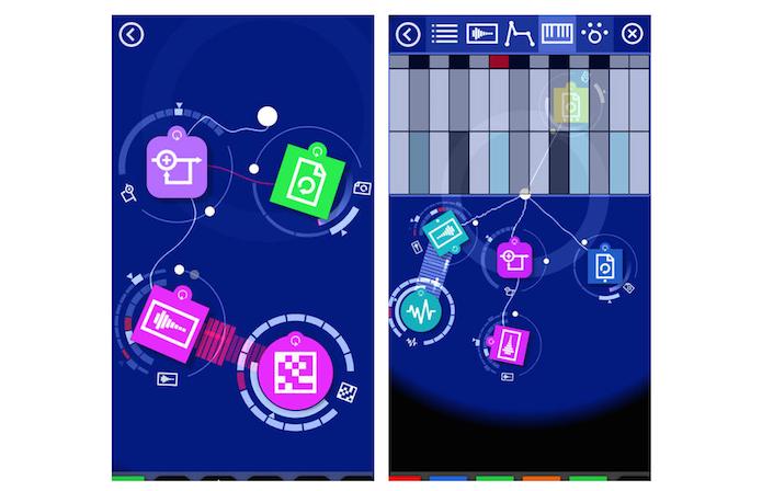 O Reactable é um gerador de som muito intuitivo que apresenta diversos sons sintetizados (Foto: Reprodução/App Store) (Foto: O Reactable é um gerador de som muito intuitivo que apresenta diversos sons sintetizados (Foto: Reprodução/App Store))