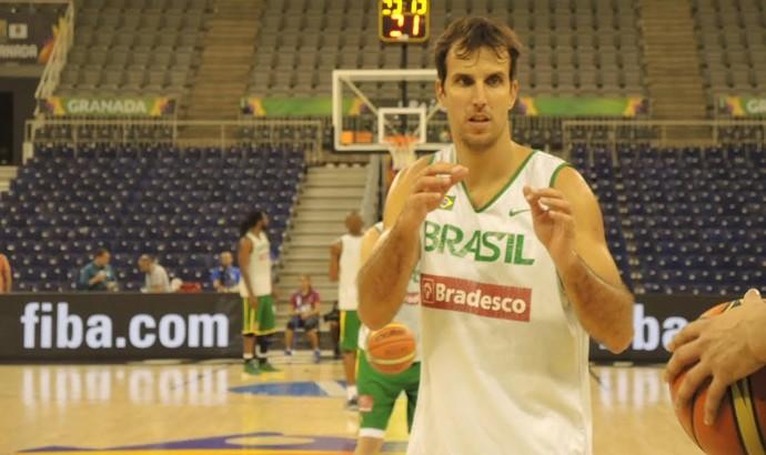 Marcelinho Machado, Mundial de Basquete (Foto: Fabio Leme)