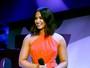 Demi Lovato leva banho de gosma verde em premiação em Los Angeles