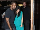 Kim Kardashian e Kanye West saem para jantar no Rio