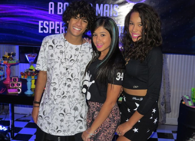 Os ex-chiquititos Gabriel Santana, Cinthia Cruz e Julia Oliiver (Foto: Divulgação)