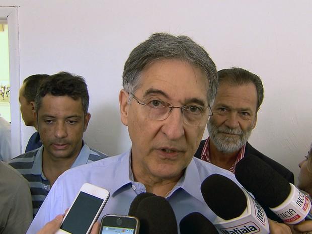 Governador de Minas Gerais, Fernando Pimentel (PT), diz que Operação Acrônimo é 'amontoado de irregularidades' (Foto: Reprodução/TV Globo)