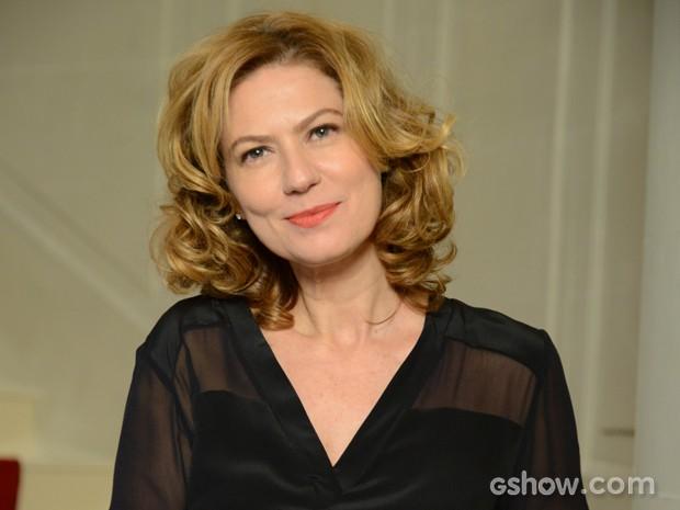 Patrícia Pillar elogiou a adaptação da sua personagem  (Foto: Raphael Dias/TV Globo)