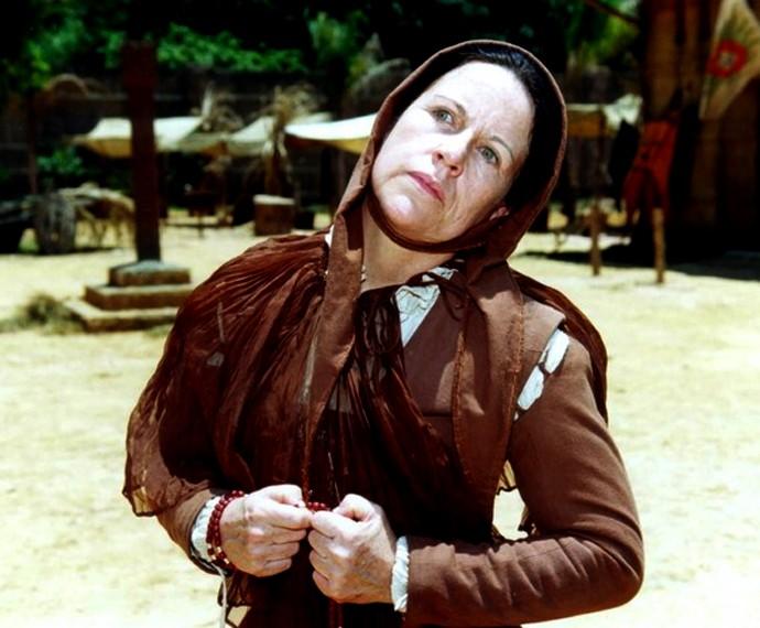 Ada Chaseliov interpretou Leonor em 'A Muralha' (Foto: Cedoc / TV Globo)