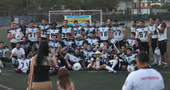 Campo Grande Gravediggers, vice-campeões da Copa São Paulo de futebol americano (Foto: Divulgação/CG Gravediggers)