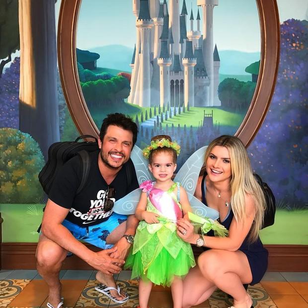 Valentina fantasia de Sininho, do Peter Pan (Foto: Reprodução/ Instagram)