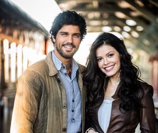 Bruno Cabrerizo e Vitória Strada, os protagonistas de 'Tempo de amar' | Globo/ João Miguel Junior