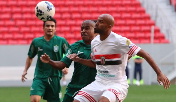 Nunes, atacante do Botafogo-SP, Gama (Foto: Rogério Moroti / Agência Botafogo)