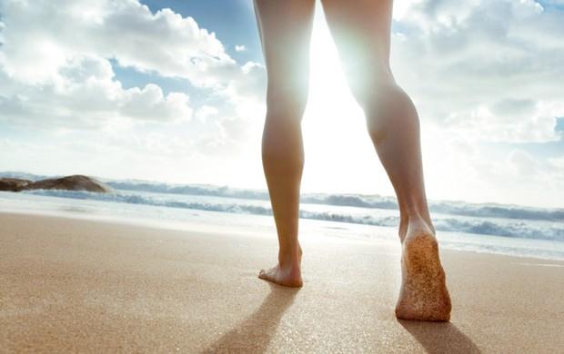 pé areia euatleta (Foto: Getty Images)