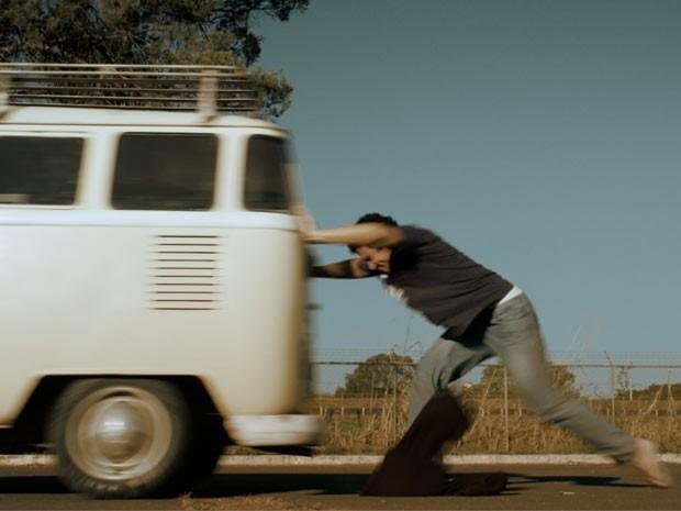 Cena do filme 'O Último Cine Drive-In', gravado em Brasília (Foto: Divulgação)