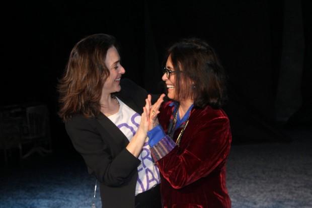 Gabriela Duarte e Regina Duarte (Foto: Thiago Duran/AgNews)