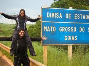 Casal de piauienses registra todos os momentos fa viagem em fotos (Foto: Bergson Pessoa/Arquivo Pessoal)