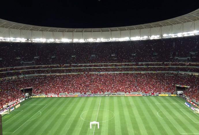 Torcida Flamengo Mané Garrincha (Foto: Ivan Raupp)