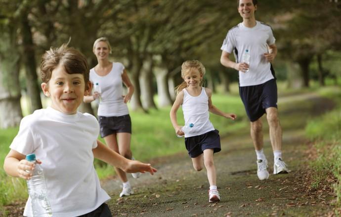 EuAtleta - família saudável coluna lia (Foto: Getty Images)