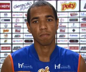 Marcelo Santos, volante do Comercial (Foto: Ronaldo Oliveira/ EPTV)