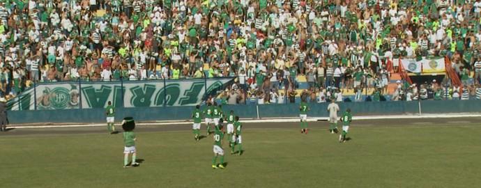 Estádio Paulínia (Foto: Carlos Velardi/ EPTV)