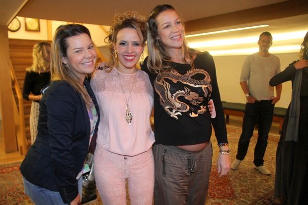 Fernanda Souza, Leona Cavalli e Luana Piovani (Foto: Ag News)