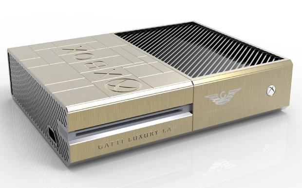 'Xbox One ostentação' foi desenhado por joalheria italiana Gatti (Foto: Divulgação/Jumbo Electronics)