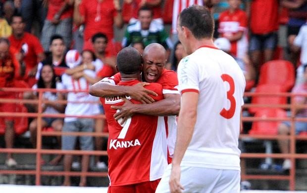 CRB x Rio Branco, em Maceió (Foto: Ailton Cruz/ Gazeta de Alagoas)