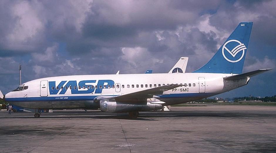 Vasp: empresa aérea, que nem existe mais, deve uma fortuna ao governo (Foto: Wiki)