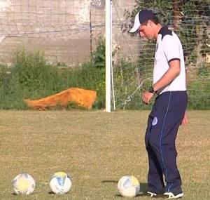 Técnico, José Luis Drey, São Bento, Sorocaba (Foto: Reprodução / TV TEM)