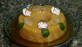 Pudim de bacuri é especial para quem gosta de misturar sabores  (Foto: Reprodução/TV Clube)