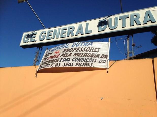Escola fica situada na Rua Zuza Motta no Parque Fundão (Foto: Divulgação/ Sepe)