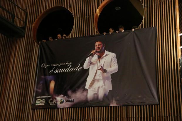 Velório de Cristiano Araújo (Foto: Evandro José / EGO)