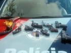 Motorista é preso com 9 armas de fogo dentro do carro em Pirapozinho