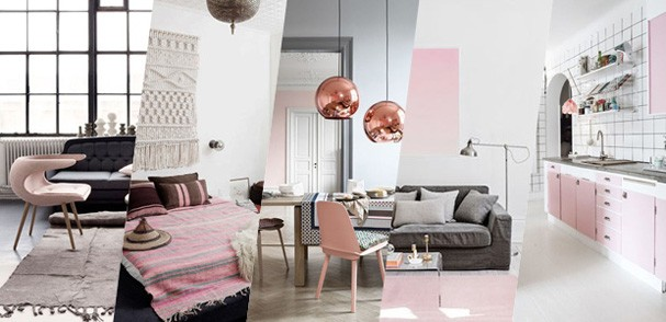20 ambientes com rose quartz a cor de 2016 casa vogue for Tendencias de salas 2016