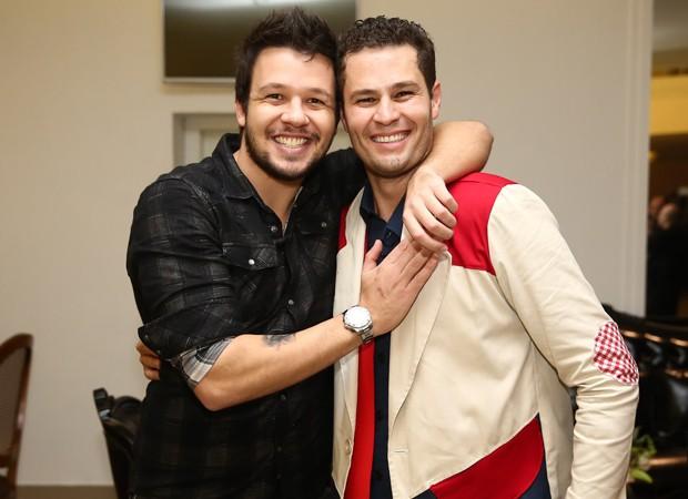 Bruno, do KLB, e Pedro Leonardo (Foto: Manuela Scarpa/Brazil News)