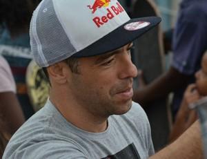 Sandro Dias Mineirinho em Itaquaquecetuba (Foto: Bruno Rocha)