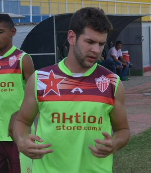 Marcelo Felber, zagueiro Rio Branco-AC (Foto: Duaine Rodrigues)