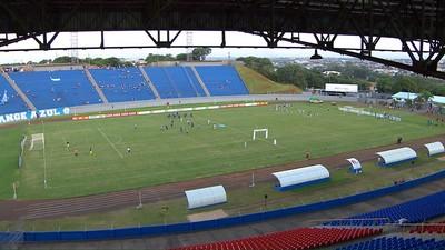 londrina x paraná clube estádio do café (Foto: reprodução/Sportv)