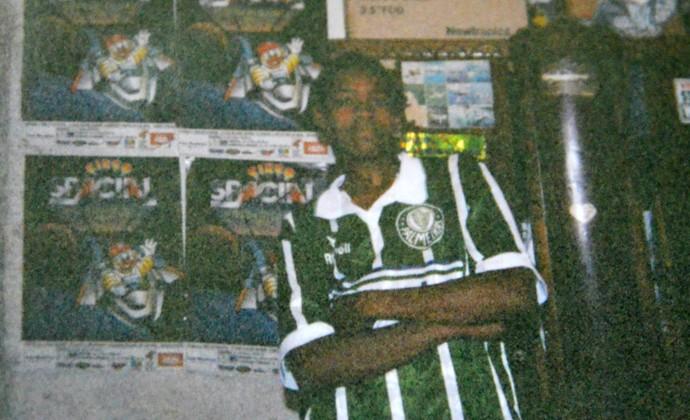 goleiro Jailson Palmeiras infância (Foto: Arquivo pessoal)