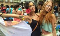 Veja imagens da abertura não oficial do carnaval de rua do Rio (Gabriel Barreira/G1)