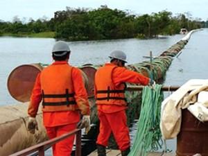 Gasoduto Urucu-Coari-Manaus (Foto: Divulgação/Fapeam)
