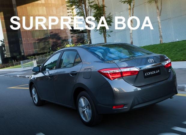 Toyota Corolla - Mais vendidos por estado (Foto: Divulgação)