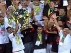 Flamengo comemora tricampeonato da Copa do Brasil