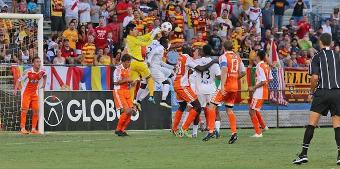 Fort Lauderdale Strikers Carolina Railhawks NASL (Foto: Divulgação)