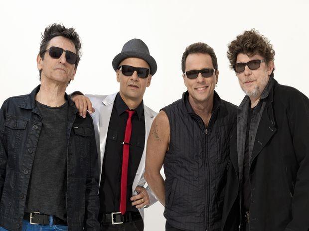 Integrantes da banda Titãs: Paulo Miklos, Branco Mello, Tony Bellotto e  Sérgio Britto (Foto: Divulgação)