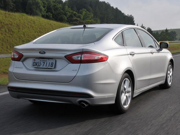 Ford Fusion flex (Foto: Divulgação)