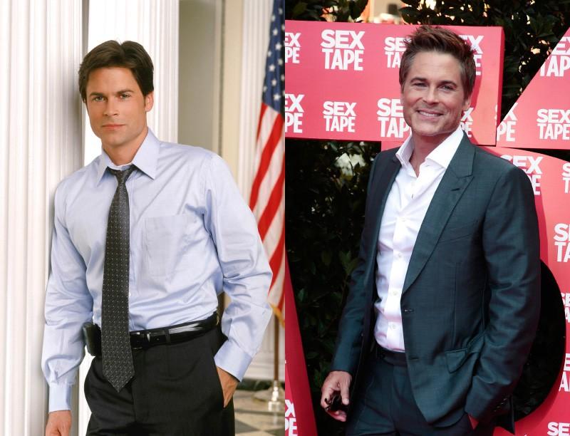 À esquerda, o ator estava com 34 anos e, à direita, com 50. Está até melhor! (Foto: Getty Images)