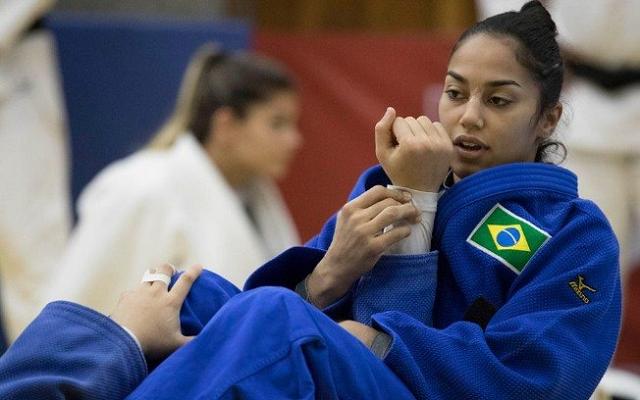 Mariana Silva, judoca de Peruíbe (Foto: Divulgação)